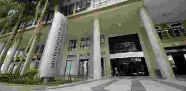 Fachada do edifício-sede do MP-RJ (Ministério Público do Estado do Rio de Janeiro) - Alziro Xavier/MP-RJ