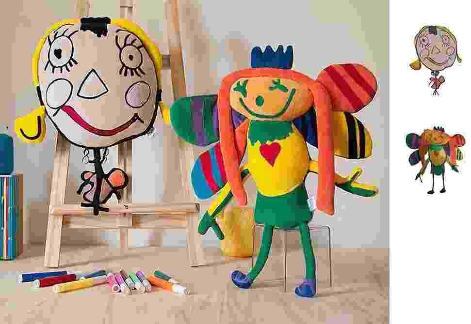 A Bololofos cria bonecos inspirados em desenhos de crianças - Divulgação