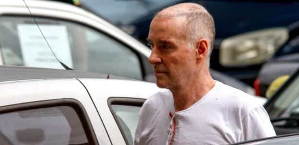 31.jan.2017 - O empresário Eike Batista, preso na segunda-feira (30), chega à sede da Polícia Federal, na área portuária do Rio, para prestar depoimento