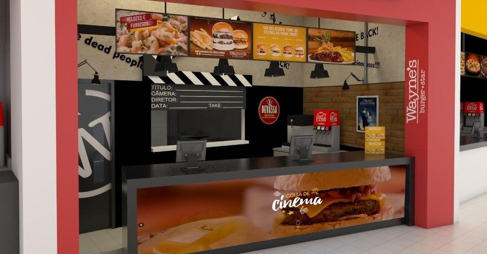 Franquia Wayne's Burger Star