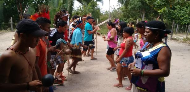 Índios gamelas, que vivem na área amazônica do Maranhão