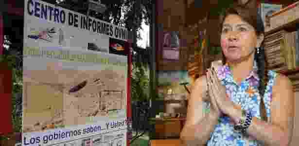 Luz Mary López é a diretora do Centro de Informações de Óvnis de Capilla del Monte - BBC Mundo - BBC Mundo