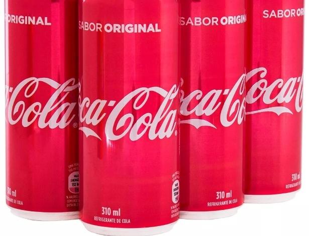 Coca-Cola em lata 310 ml