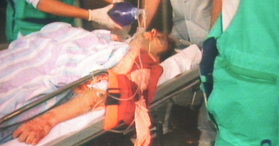 12.jul.1997 - Após 48 de sequestro, o ETA atinge duas vezes na nuca o conselheiro basco do Partido Popular Miguel Angel Blanco, de 29 anos, que morreu na manhã seguinte