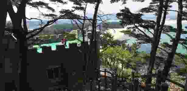 Castelo de Hwajinpo - Jung Yeon-je/AFP - Jung Yeon-je/AFP