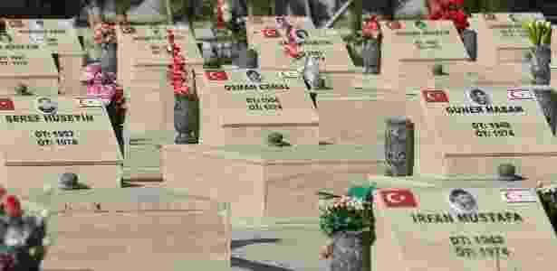 28.set.2018 - Centenas de pessoas desapareceram em meio ao conflito entre turco-cipriotas e grego-cipriotas - Getty Images - Getty Images