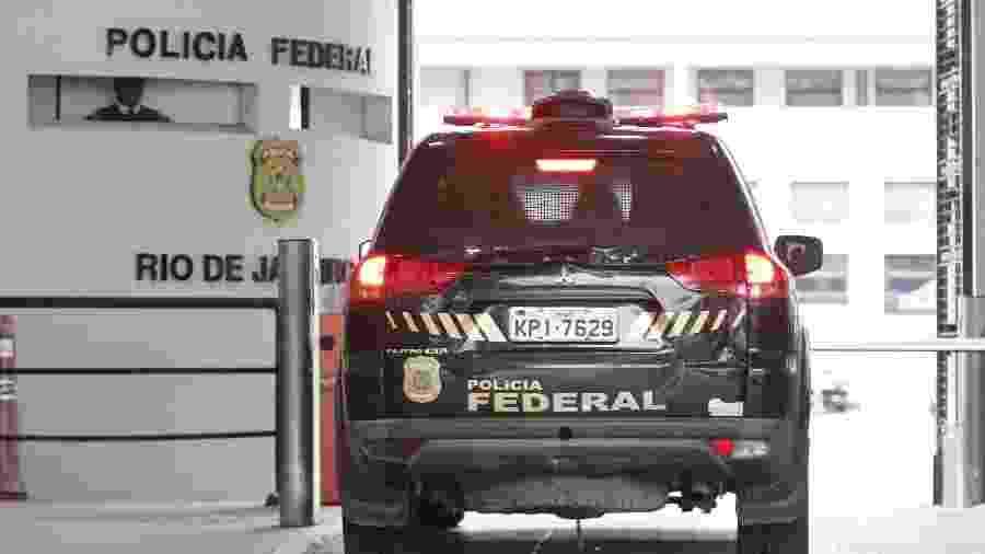 8.mai.2019 - Movimentação na sede da Polícia Federal, no Rio de Janeiro (RJ), durante a 61ª fase da Operação Lava Jato - Jose Lucena/Futura Press/Estadão Conteúdo