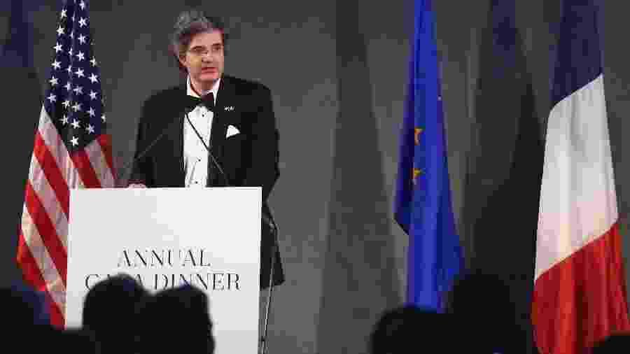 François Delattre é o embaixador da França nas Nações Unidas.