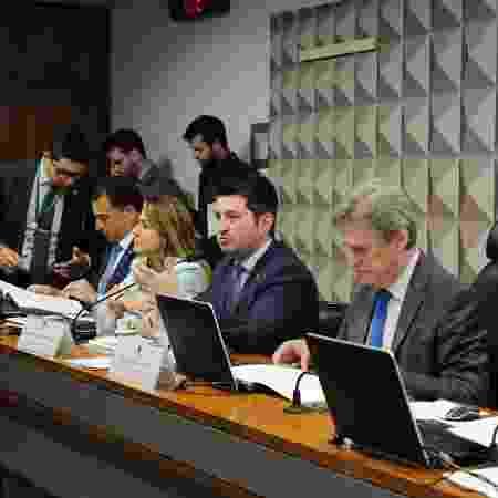 Relator Jerônimo Goergen, durante reunião da comissão em julho - Roque de Sá - 28.jul.2019/Agência Senado