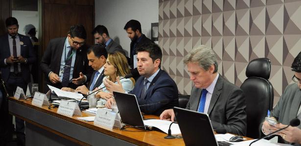 Comissão mista da MP da Liberdade Econômica, que aprovou relatório de Jerônimo Goergen