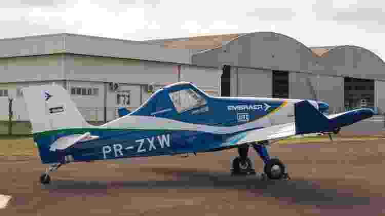 O avião demonstrador da Embraer será um teste importante para o desenvolvimento dos táxis voadores - Divulgação