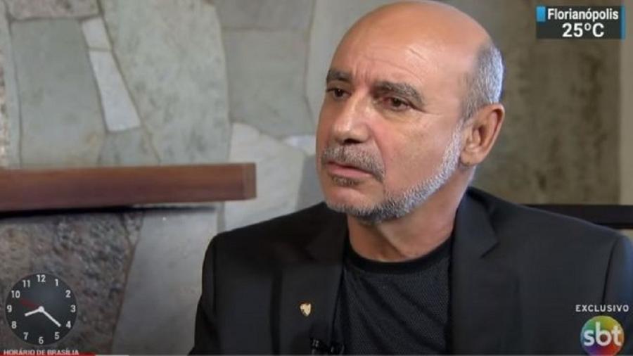 Fabrício Queiroz, subtenente da reserva da PM do Rio e ex-assessor de Flávio Bolsonaro - Reprodução/Youtube/SBT