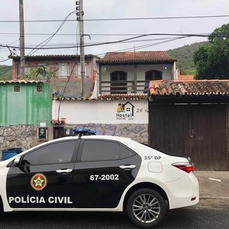 Polícia interditou hostel comprado com dinheiro do tráfico - Polícia Civil do RJ