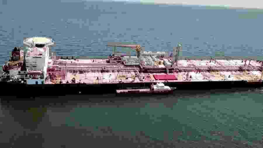 Danos em petroleiro na Venezuela geram temor de desastre ambiental - FOTO / PESCADORES E AMIGOS DO MAR / ESN / AFP