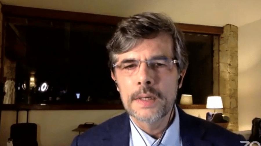 Ex-ministro Nelson Teich voltou a fazer críticas ao sistema de planejamento federal para aquisição de vacinas contra a covid-19 - Reprodução