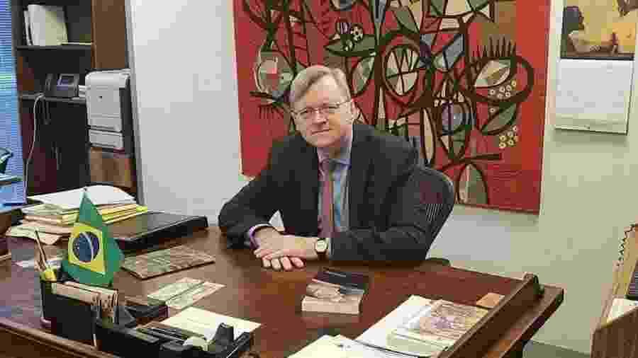 Embaixador brasileiro em Washington, Nestor Forster afirma que fala de congressista americano sobre Bolsonaro é inaceitável - Divulgação/Itamaraty