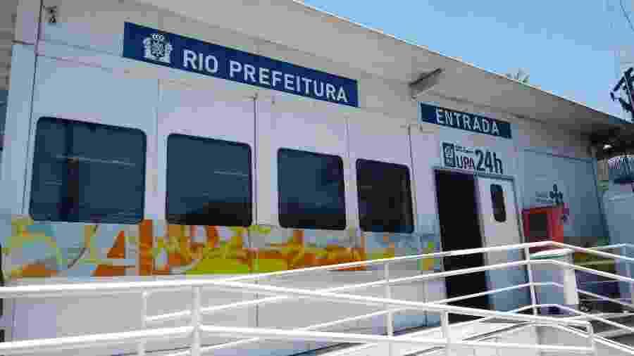 Unidade de saúde UPA Cidade de Deus, na zona oeste do Rio de Janeiro - Divulgação/Prefeitura do Rio de Janeiro