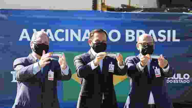 CoronaVac - 18.dez.2020 - Divulgação/Governo de São Paulo - 18.dez.2020 - Divulgação/Governo de São Paulo