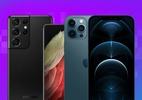 Galaxy S21 ou iPhone 12? Compare os poderosos da Samsung e da Apple (Foto: Reprodução/Tilt)