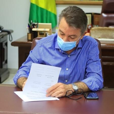 Para a Rede, decreto assinado na segunda-feira (8) pelo governador Antonio Denarium é inconstitucional - Reprodução/Instagram