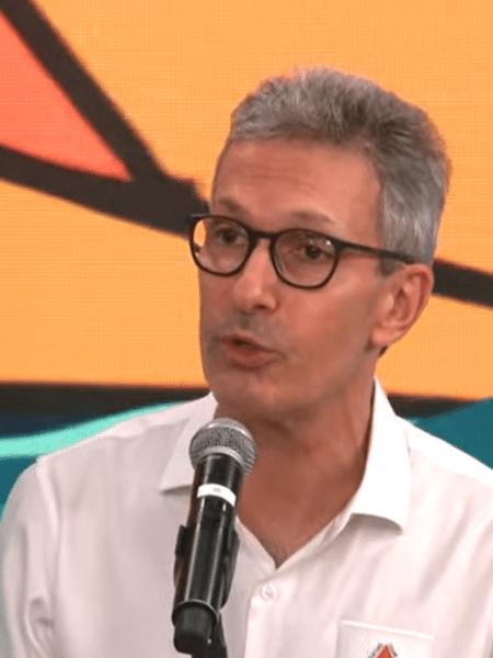"""Governador mineiro Romeu Zema comparou colega de partido a """"mulher obecada pelo ex"""" - Reprodução/YouTube"""