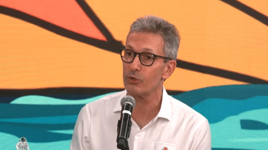 Romeu Zema atribuiu as altas nos preços dos combustíveis à Petrobras - Reprodução/YouTube