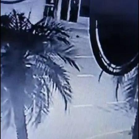 Bebê foi arremessada de ônibus em Panambi, no Rio Grande do Sul - Reprodução