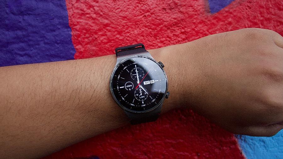 Smartwatch Huawei Watch GT2 Pro - Guilherme Tagiaroli/Tilt