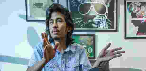 Kim Kataguiri, um dos líderes do MBL (Movimento Brasil Livre) - Marlene Bergamo/Folhapress
