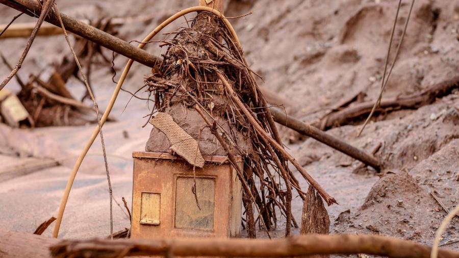 5.mar.2016 - Paracatu de Baixo, distrito de Mariana (MG), após três meses do rompimento da barragem da mineradora Samarco - Cristiane Mattos/Futura Press/Estadão Conteúdo