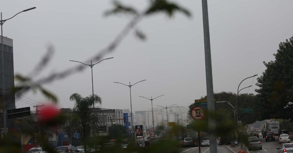 18.jun.2016 - Um intenso nevoeiro é observado nesta manhã na cidade de São Paulo. Por conta da redução da visibilidade, o aeroporto de Congonhas foi fechado