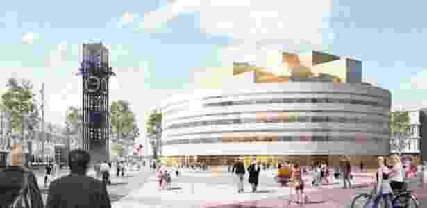 Este será o novo palácio de governo de Kiruna, na Suécia - Henning Larsen Architects AS - Henning Larsen Architects AS