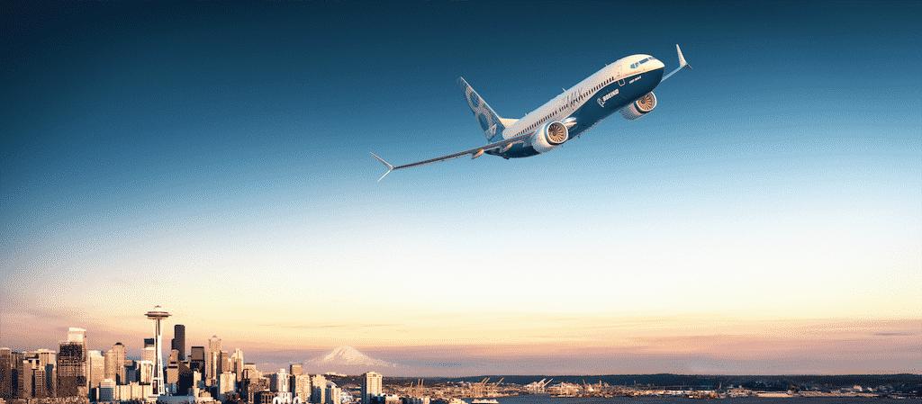 Avião da Boeing - Divulgação