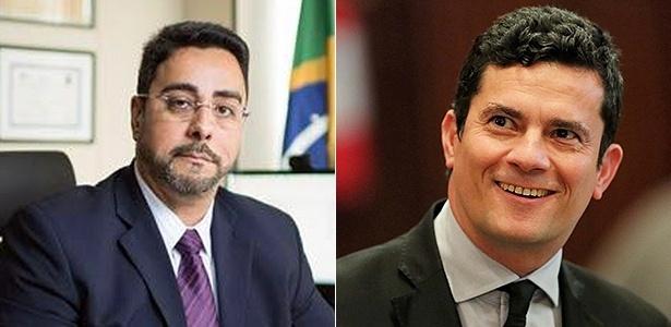 Marcelo Bretas (à esq) e Sergio Moro estão na pré-lista de 30 nomes