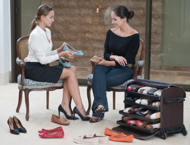 Franquia Quinta Valentina, que faz venda direta de sapatos