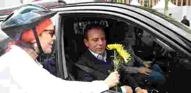 flores doria 1 - Renato S. Cerqueira/ Futura Press/ Estadão Conteúdo - Renato S. Cerqueira/ Futura Press/ Estadão Conteúdo