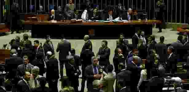 Sessão na Câmara analisa denúncia contra Michel Temer - Pedro Ladeira/Folhapress - Pedro Ladeira/Folhapress
