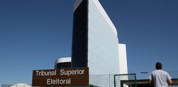 Fachada do Tribunal Superior Eleitoral, em Brasília, nesta sexta-feira (31)