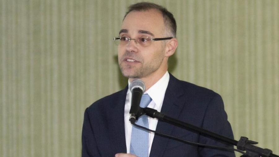 André Mendonça, então ministro, se reuniu com o presidente Bolsonaro após pedido de delegada ao STF - Divulgação/AGU