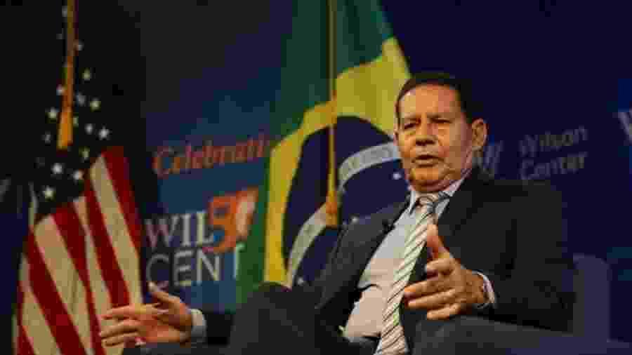 Hamilton Mourão, vice-presidente: ele vai coordenar o Conselho sobre a Amazônia  - Romério Cunha/PR/BBC