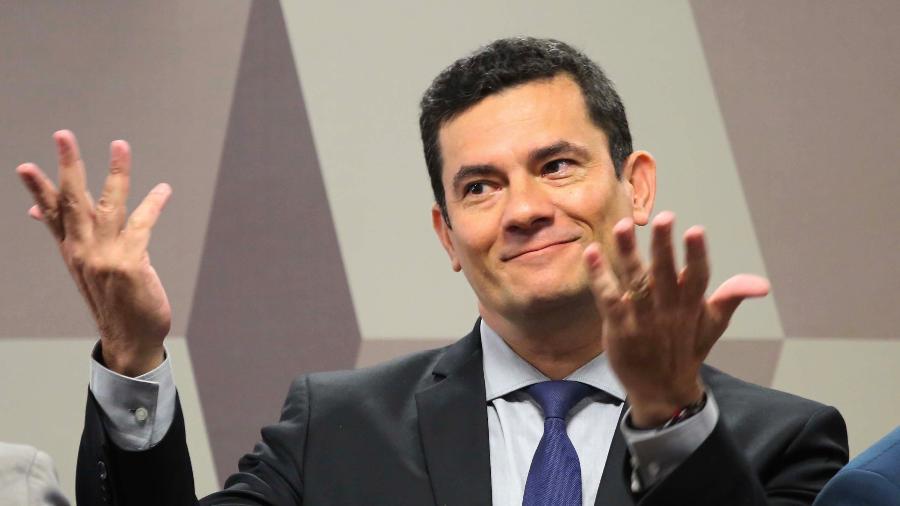 O ministro da Justiça e Segurança Pública, Sergio Moro - Fátima Meira/Futura Press/Estadão Conteúdo