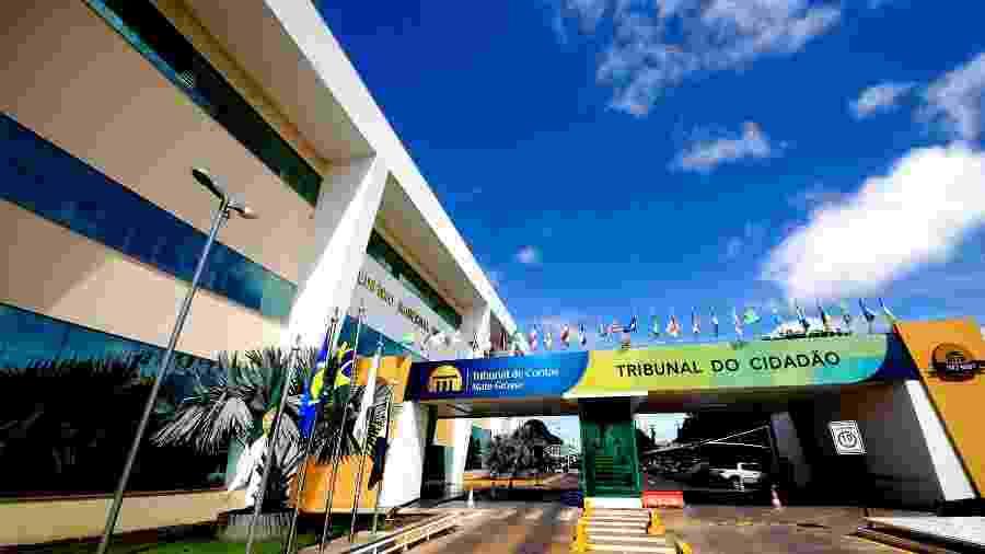 01.fev.2016 - Fachada do Tribunal de Contas do Mato Grosso - Marcos Bergamasco/Divulgação/TCE-MT