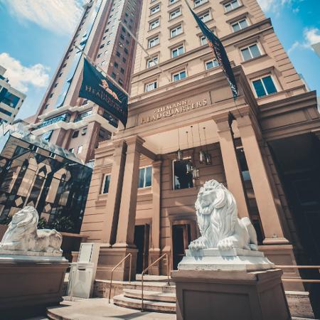 Sede do Grupo Bitcoin Banco, em Curitiba - Divulgação
