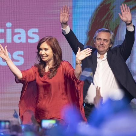 Alberto Fernández assumirá a presidência da Argentina no próximo dia 10 de dezembro, substituindo Mauricio Macri - Martin Zabala - 27.out.2019/Xinhua