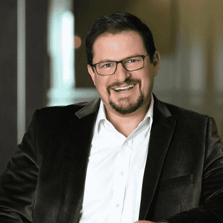 Cristiano Amon, presidente-executivo da Qualcomm - Divulgação/Qualcomm  - cristiano amon presidente executivo da qualcomm 1574705786885 v2 450x450 - Brasil nem tem 5G, mas a Qualcomm já está pensando no 6G