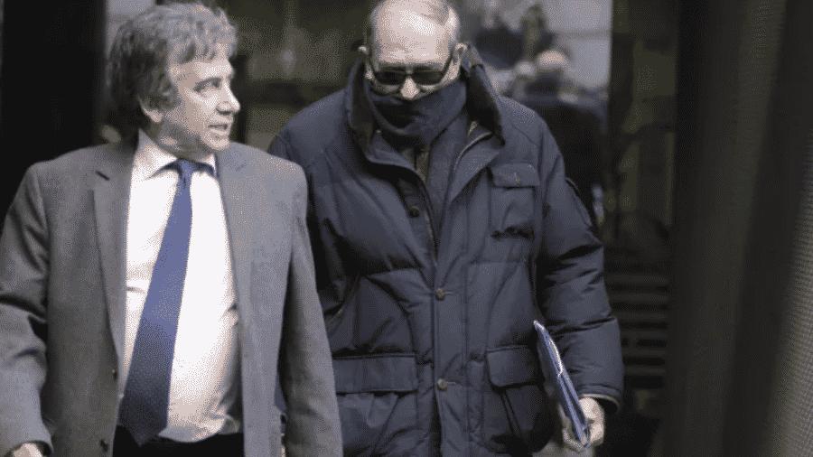 O ex-policial Antonio González Pacheco, acusado de cometer torturas durante o franquismo - Reprodução