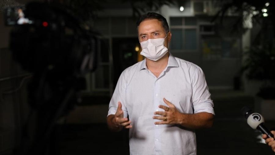 Renan Filho (MDB) anuncia abertura dos bares e restaurantes entre 5h às 16h, de segunda a sexta - Márcio Ferreira/Divulgação