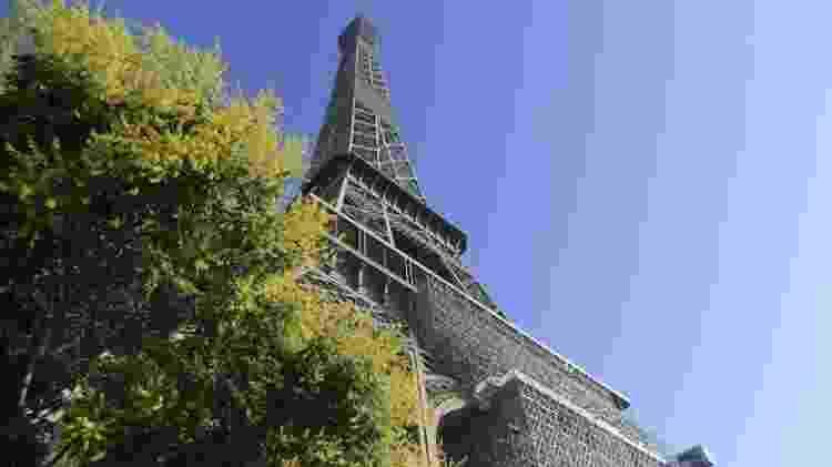 25.jun.2020 - A Torre Eiffel - François Pauletto/Anadolu Agency via Getty Images - François Pauletto/Anadolu Agency via Getty Images