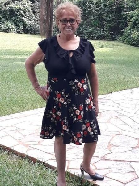 Maria das Graças Paim, 71, morreu em decorrência da covid - Arquivo Pessoal
