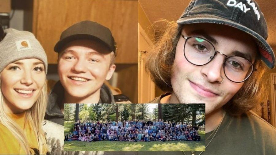 Merlin Blackmore, de 21 anos, disse que tem medo de ser perseguido por detalhar dia a dia da comunidade - Reprodução/TikTok